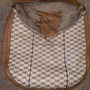 Michael Kors MK signature hobo purse
